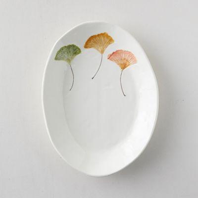 Ginkgo Leaf Serving Platter