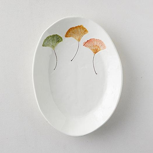 View larger image of Ginkgo Leaf Serving Platter