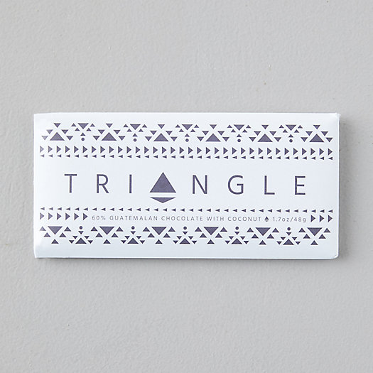 View larger image of Triangle Roasters Coconut Chocolate Bar