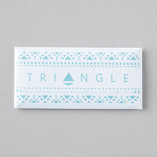 View larger image of Triangle Roasters Sea Salt Chocolate Bar