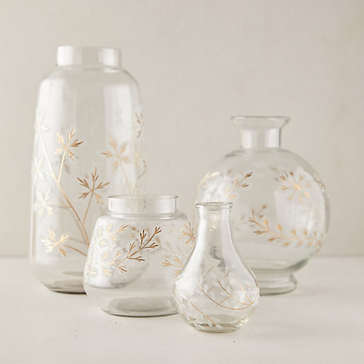 View larger image of Etched Floral Vase