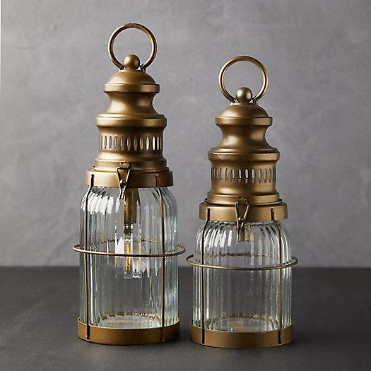 View larger image of Antiqued LED Lantern
