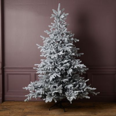 Faux Glitter Frosted Grandis Tree
