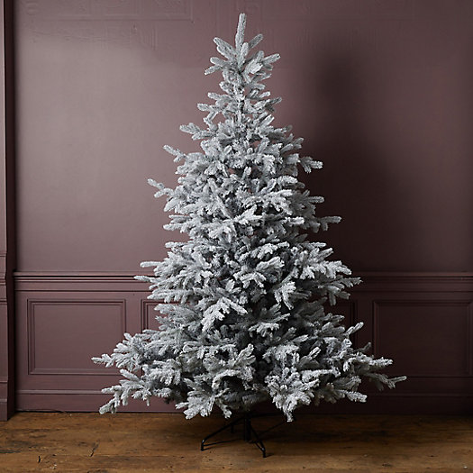 View larger image of Faux Glitter Frosted Grandis Tree