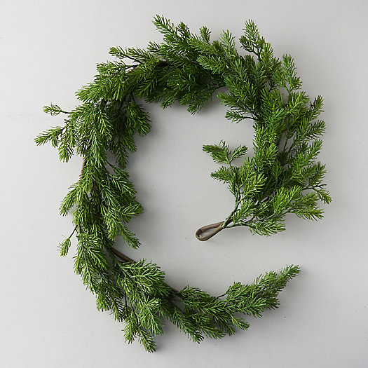 View larger image of Faux Pine Garland