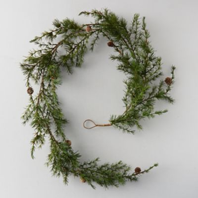 Faux Larch Garland