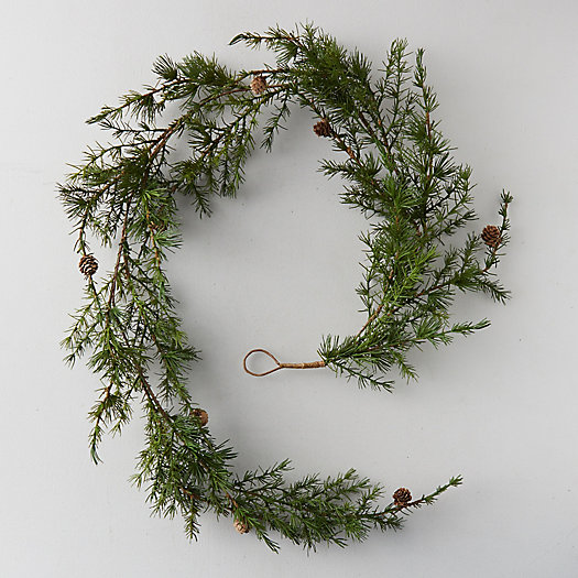 View larger image of Faux Larch Garland