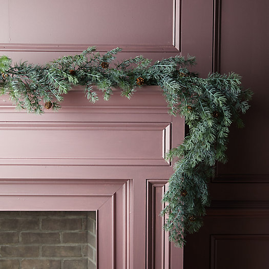 View larger image of Faux Blue Larch Garland