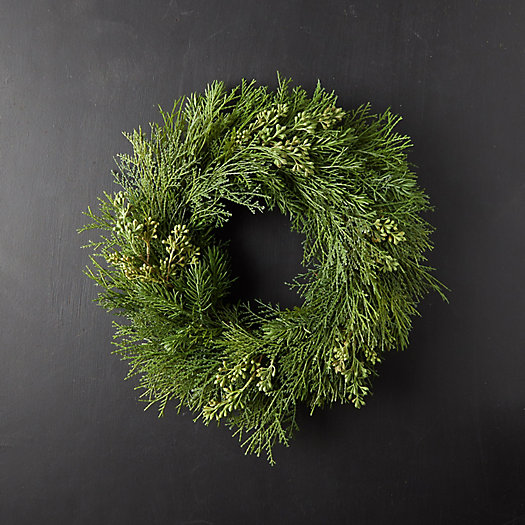 View larger image of Faux Seeded Eucalyptus Wreath