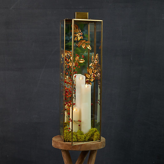 View larger image of Brass + Glass Sconce