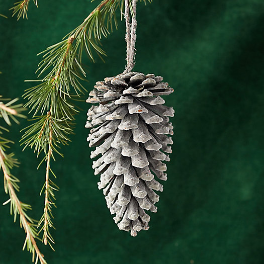 View larger image of Flocked Pine Cone Ornament