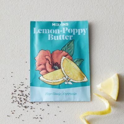 Butter Mix-In, Lemon Poppy