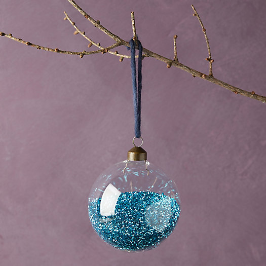 View larger image of Glitter Filled Globe Ornament