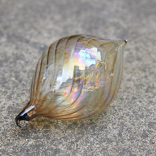 View larger image of Lustre Swirl Glass Ornament