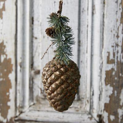 Beaded Pine Cone Ornament