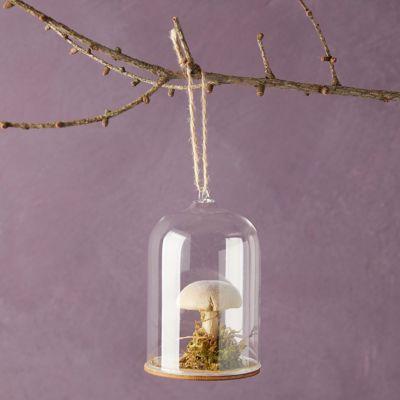 Mushroom Cloche Ornament