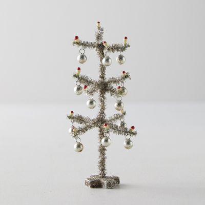 Mini Tinsel Tree