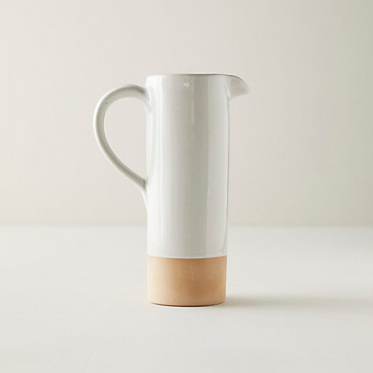 View larger image of Dipped Ceramic Pitcher