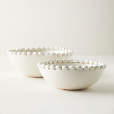 Bauble Edge Ceramic Serving Bowl