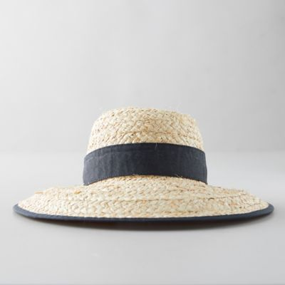 Braided Raffia Sun Hat