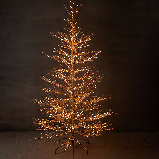 View larger image of Faux Pre-Lit LED Twiggy Tree