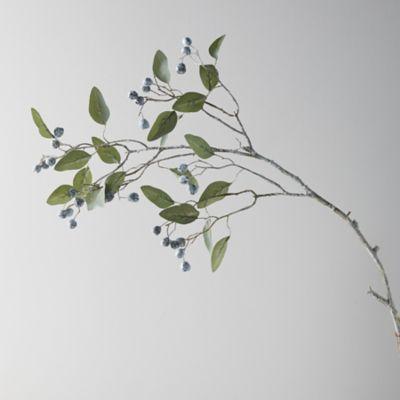 Faux Eucalyptus Spray, Gray