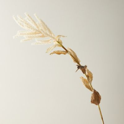 Faux Harvest Grass Plume