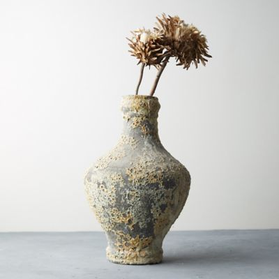 Aged Earthenware Vase