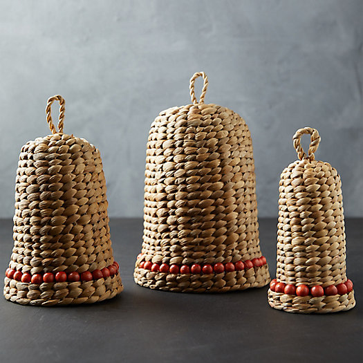 View larger image of Woven Bells, Set of 3