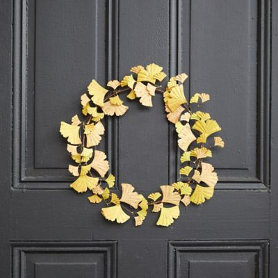 Iron Fall Ginkgo Wreath