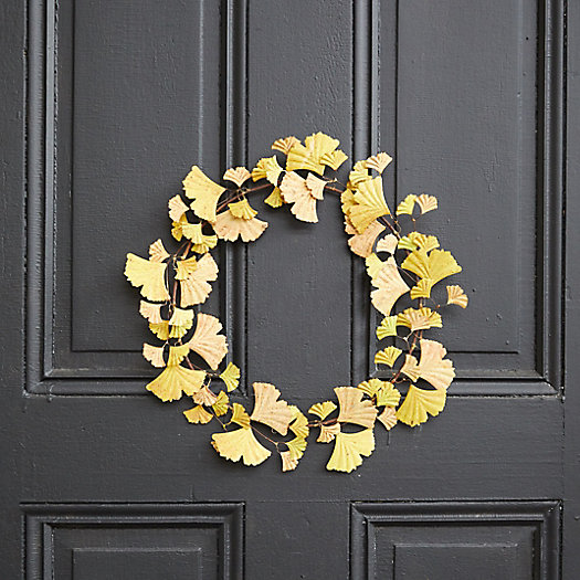 View larger image of Iron Fall Ginkgo Wreath
