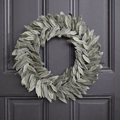 Recycled Canvas Olive Wreath