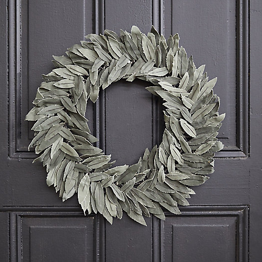 View larger image of Recycled Canvas Olive Wreath
