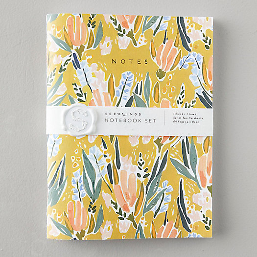 View larger image of Wildflower Seed Paper Notebooks, Set of 2
