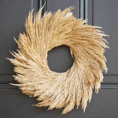 Preserved Natal Grass Wreath