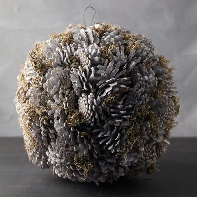 Preserved Pine Cone Sphere
