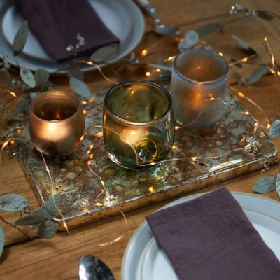 Silvery Mercury Decorative Tray