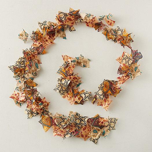 View larger image of Recycled Sari Fabric Garland