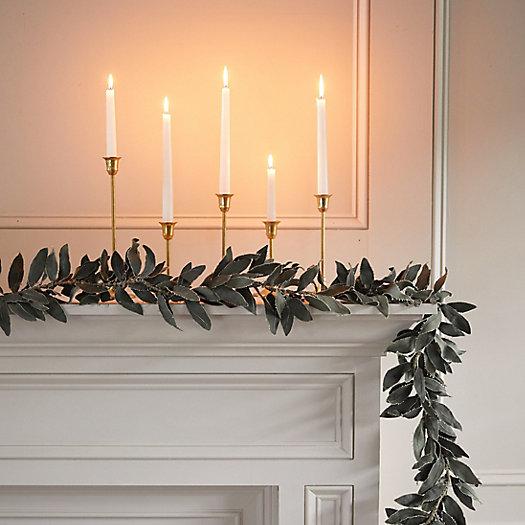 View larger image of Canvas Olive Leaf Garland