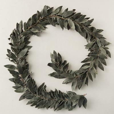 Canvas Olive Leaf Garland