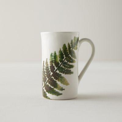 Ceramic Fern Mug