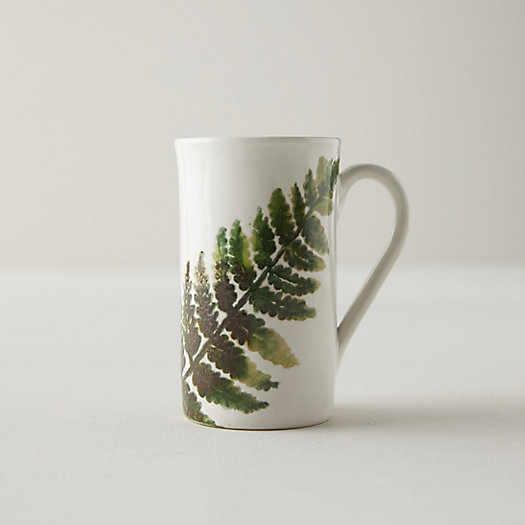 View larger image of Ceramic Fern Mug