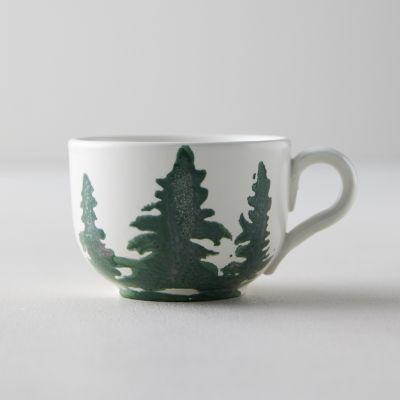 Evergreen Trees Short Mug
