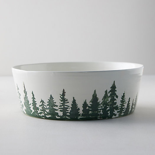 View larger image of Evergreen Trees Serving Bowl