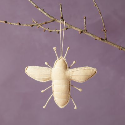 Honey Bee Fabric Ornament