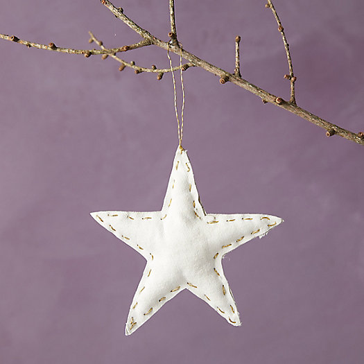 View larger image of Vintage Canvas Star Ornament