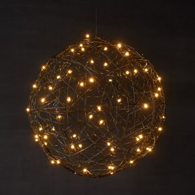 Big + Bright LED Wire Sphere