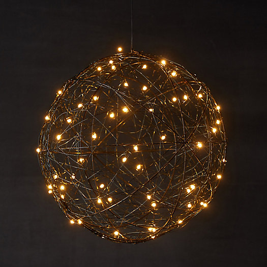 View larger image of Big + Bright LED Wire Sphere