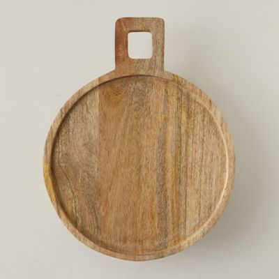 Round Footed Serving Board
