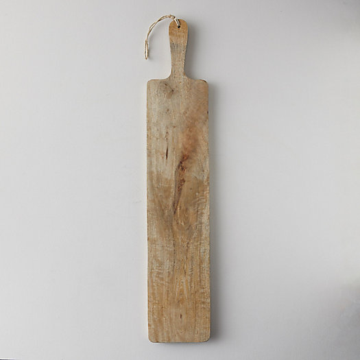 View larger image of Wood Charcuterie Paddle, Narrow